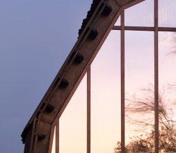 The Houseboat Poole Hamworthy Dorset Exterior Sunset Reflection Roof Award Winning Holiday Property