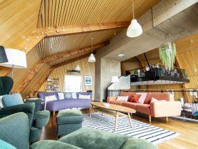 The Houseboat Poole Poole Hamworthy Dorset Lounge Level Open Plan Living Holiday Property