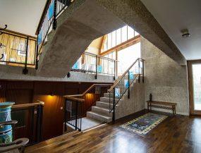 The Houseboat Poole Poole Hamworthy Dorset Landing Suspended Stairs Levels Award Winning Holiday Property