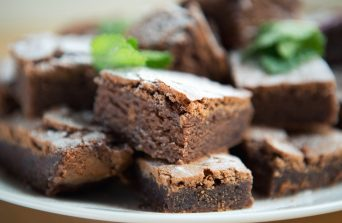 The Houseboat Poole Private Dining Chef Holiday Property Chocolate Brownies