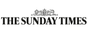 The Houseboat Poole The Sunday Times Article Logo
